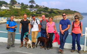 Guided walk on Cornwall coast path wildlife, views & foraging